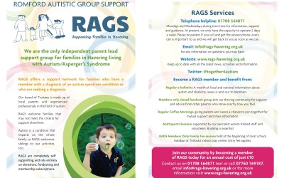 RAGS pleased to showcase our newly designed leaflet