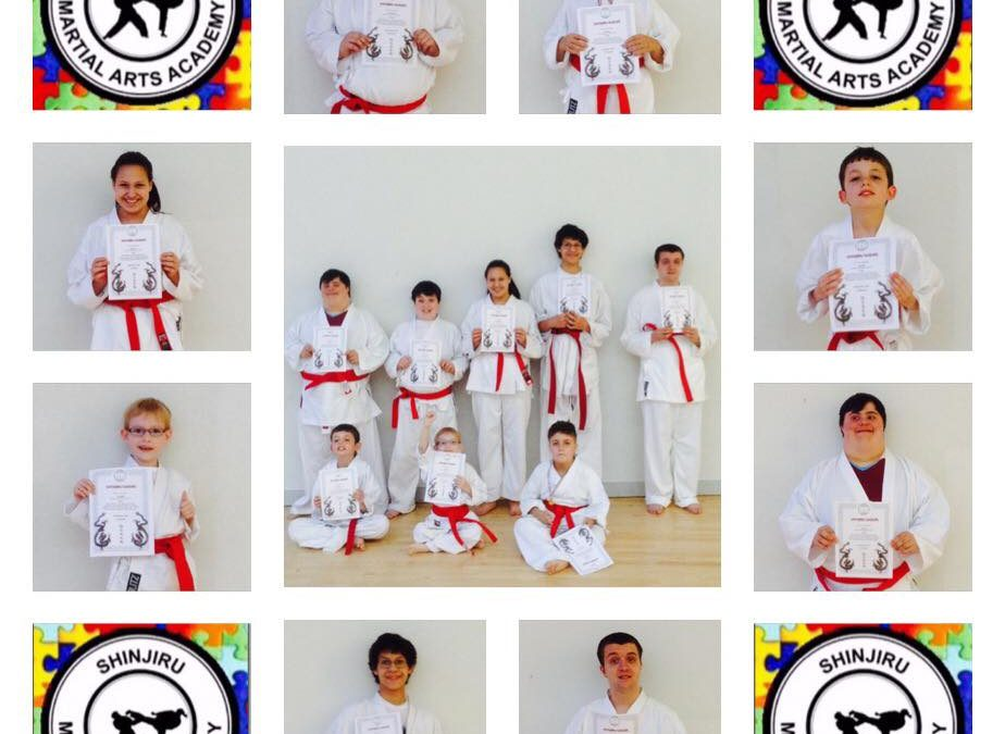 An excellent achievement by Shinjiru Warriors who have passed their first grading