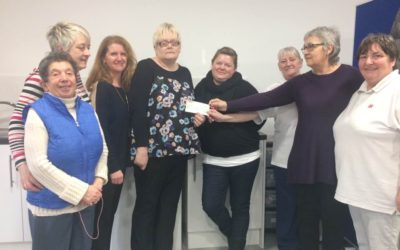 Harold Hill Library Knitting Club supports RAGS for a second year raising an incredible £2800