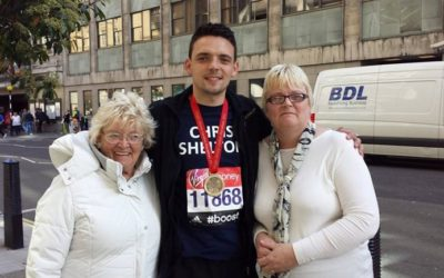 Chris Shelton Completed The London Marathon